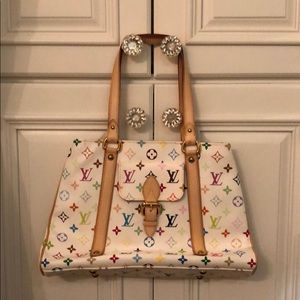 Louis Vuitton Aurelia MM Multicolor Monogram Bag